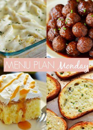 menu plan Monday 230