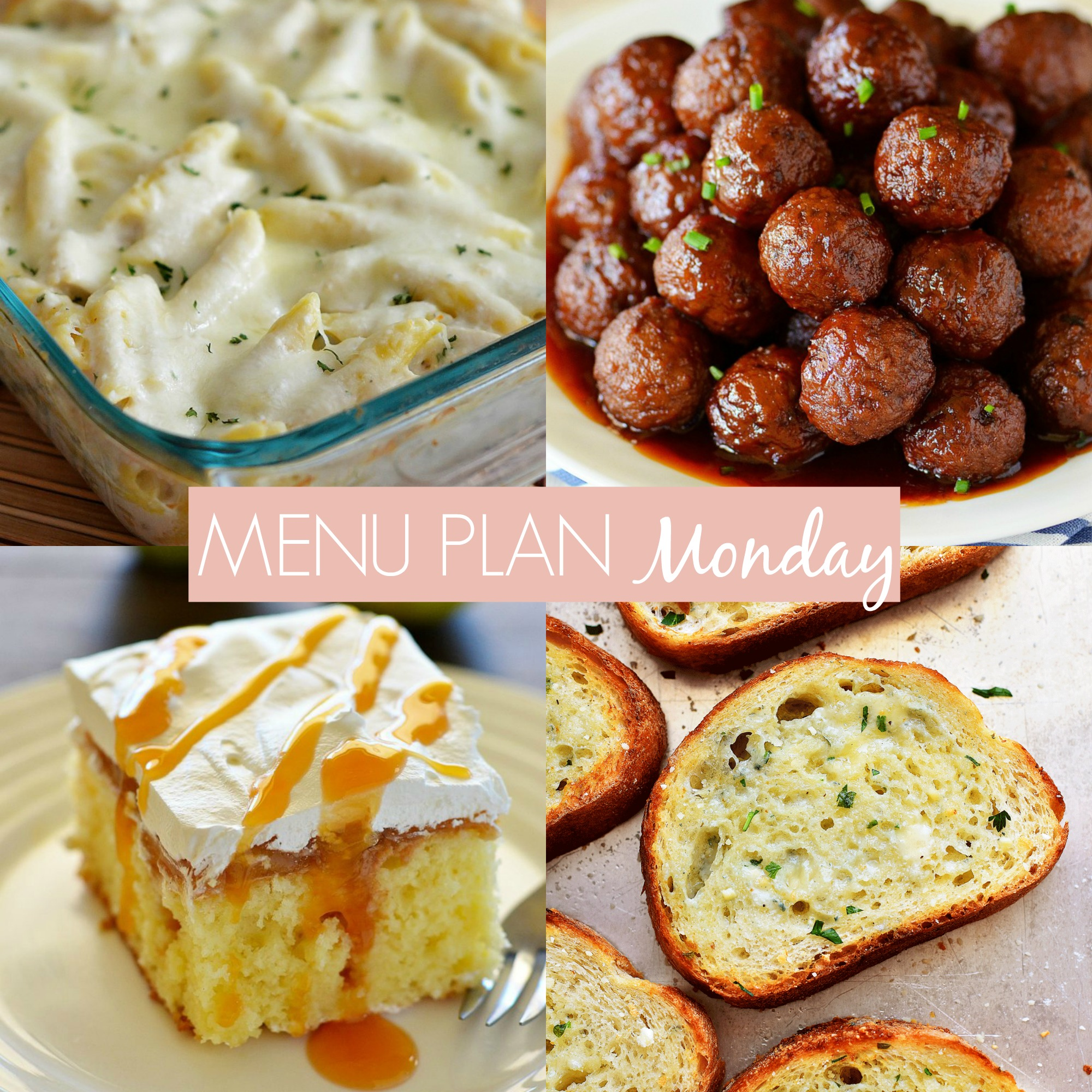 menu plan Monday 230