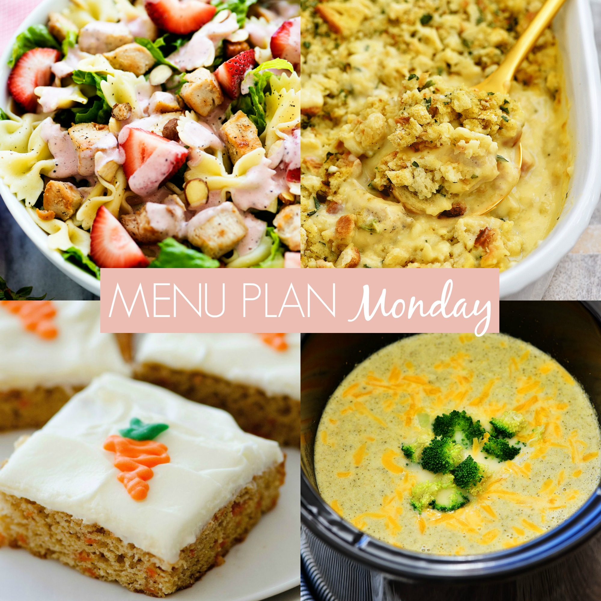 Menu Plan Monday #232