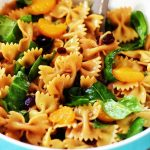Mandarin Orange and Spinach Pasta Salad