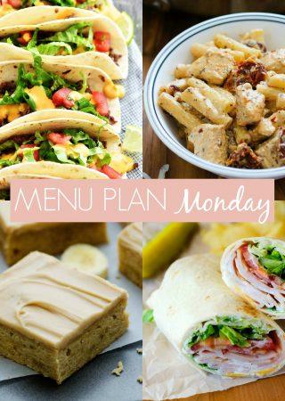 Menu Plan Monday #234