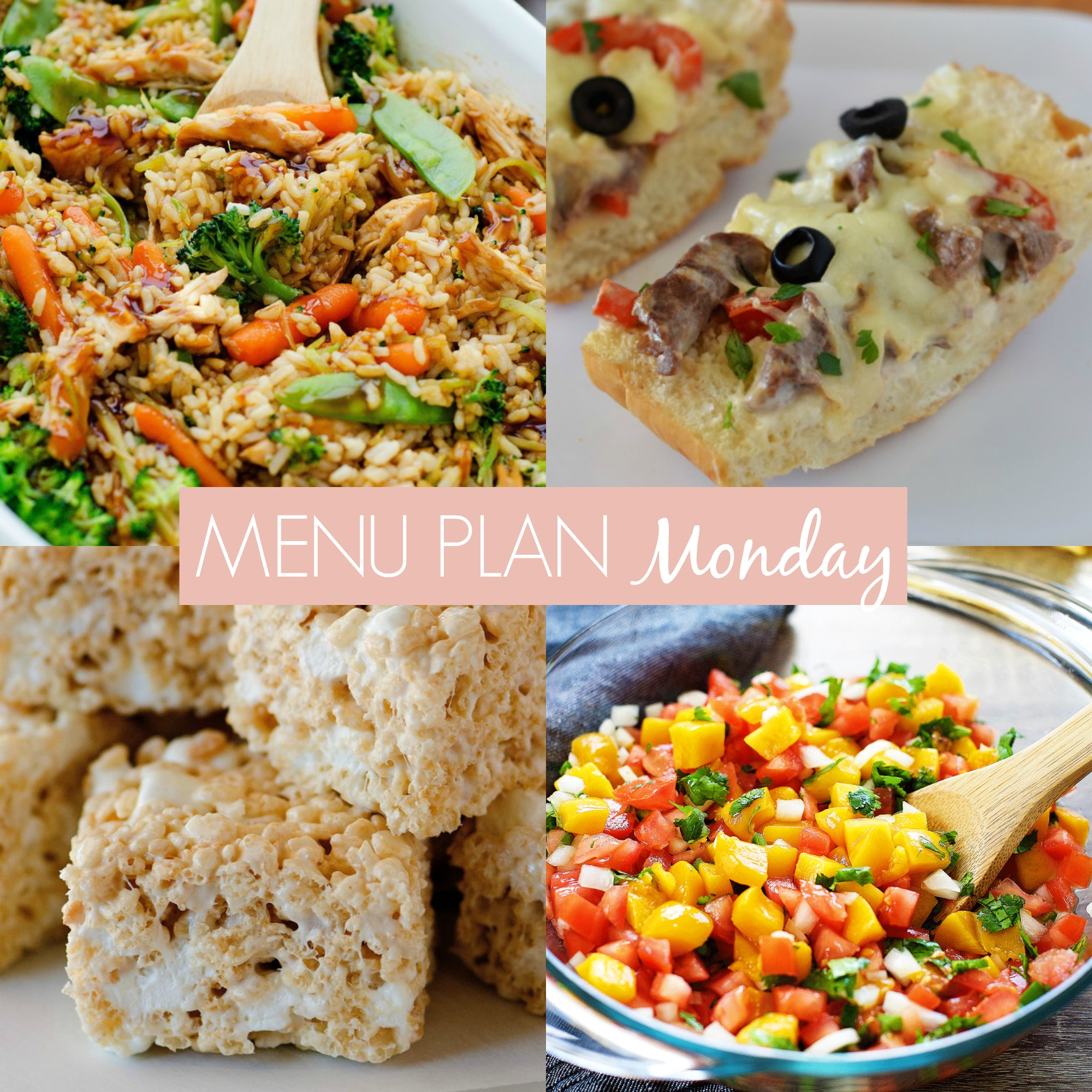 menu plan Monday #236