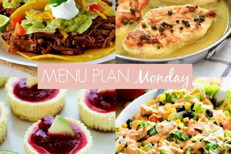 Menu Plan Monday #238