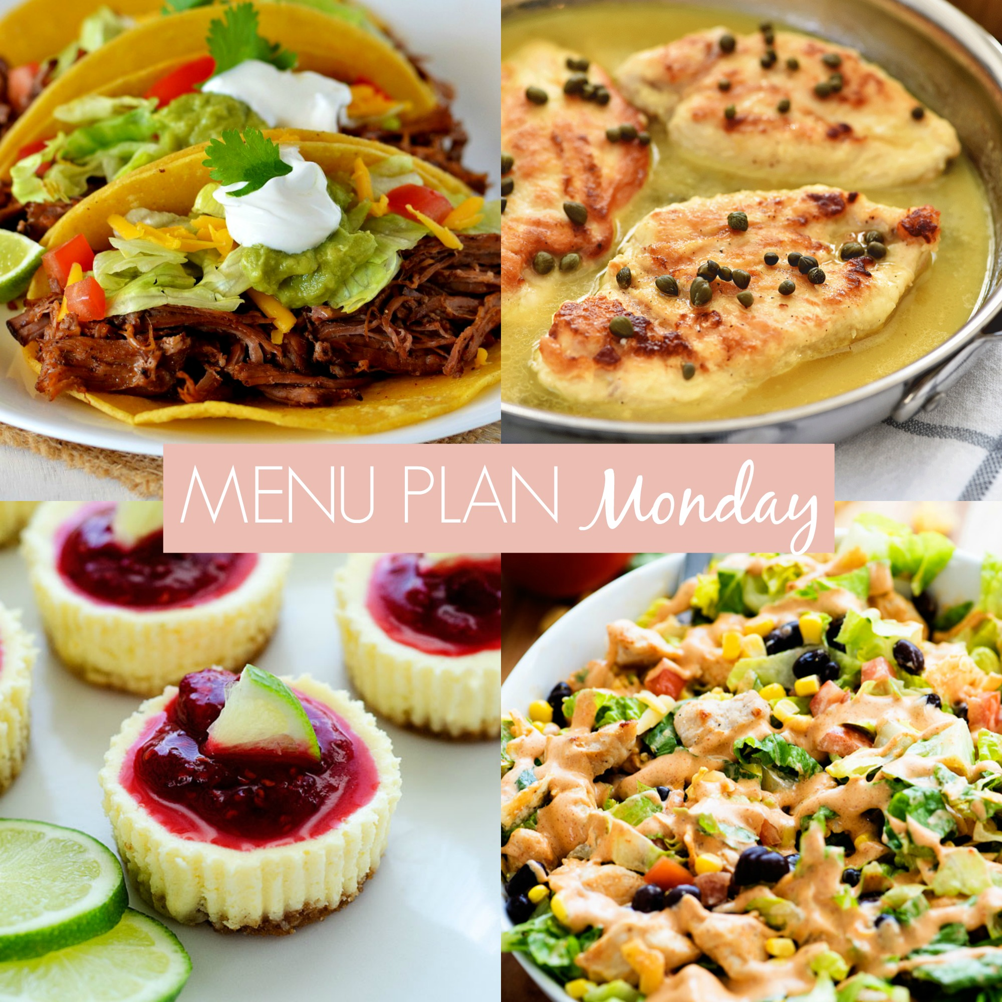 Menu Plan Monday #238