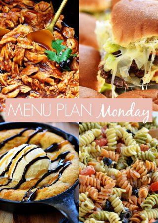 menu plan Monday #235