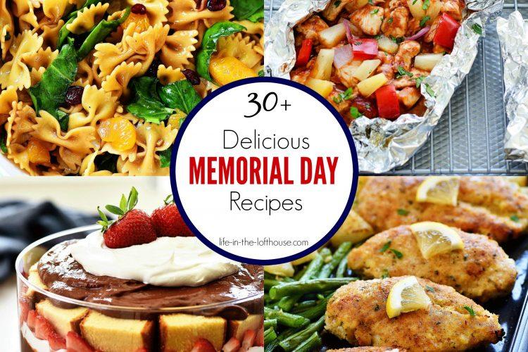 30+ Delicious Memorial Day Recipes