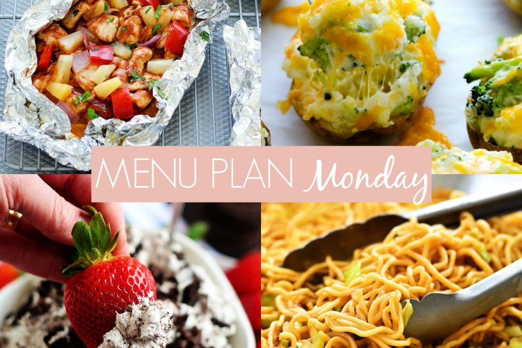 Menu Plan Monday #239