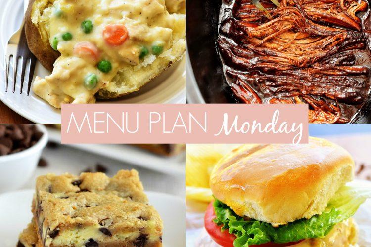 Menu Plan Monday #241