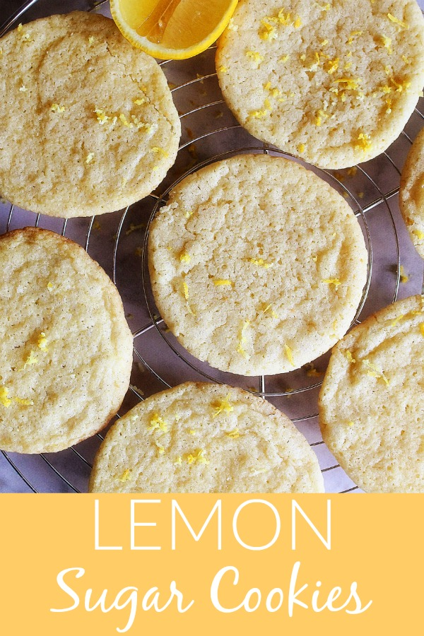 Lemon Sugar Cookies are sweet, slightly tart cookies made with real lemon juice and zest. Life-in-the-Lofthouse.com