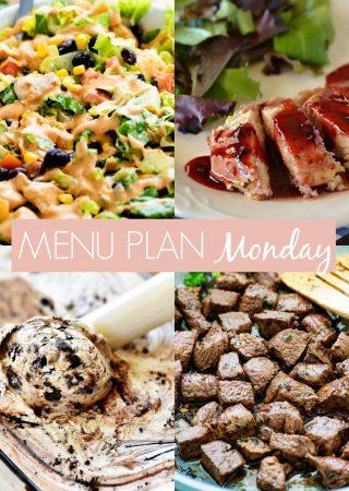 Menu Plan Monday #242