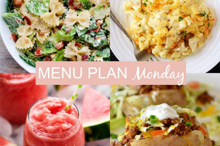 Menu Plan Monday #243