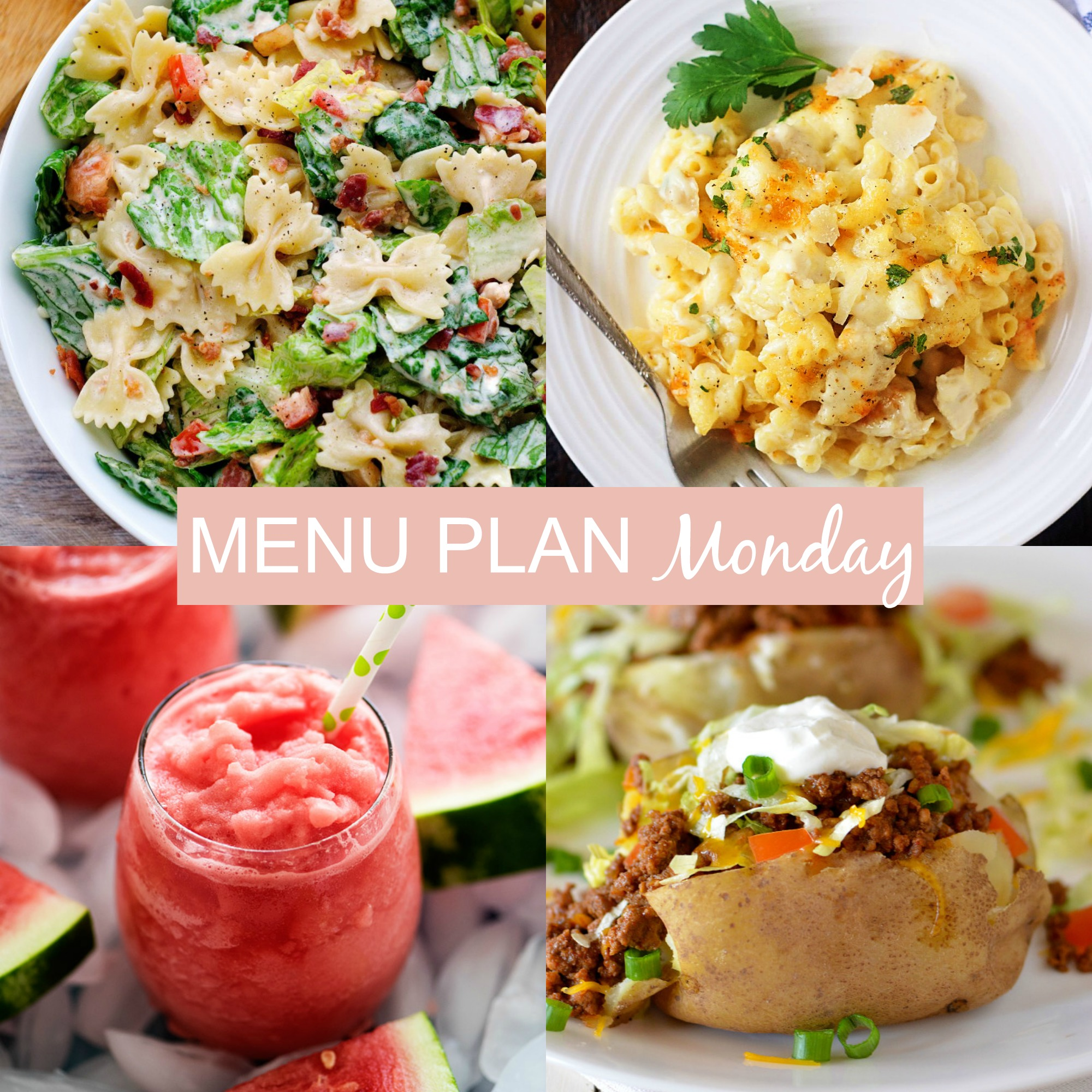 Menu Plan Monday #243