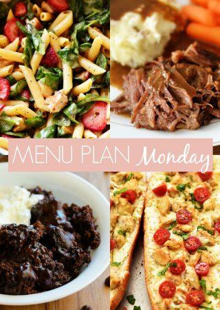 Menu Plan Monday #245