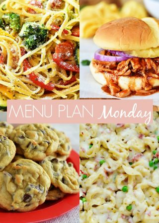 Menu Plan Monday #247