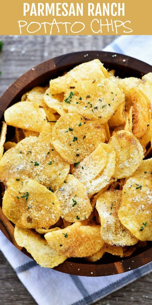 Potato Chips with Parmesan and ranch flavors. Life-in-the-Lofthouse.com