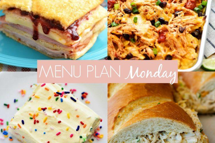 Menu Plan Monday #250