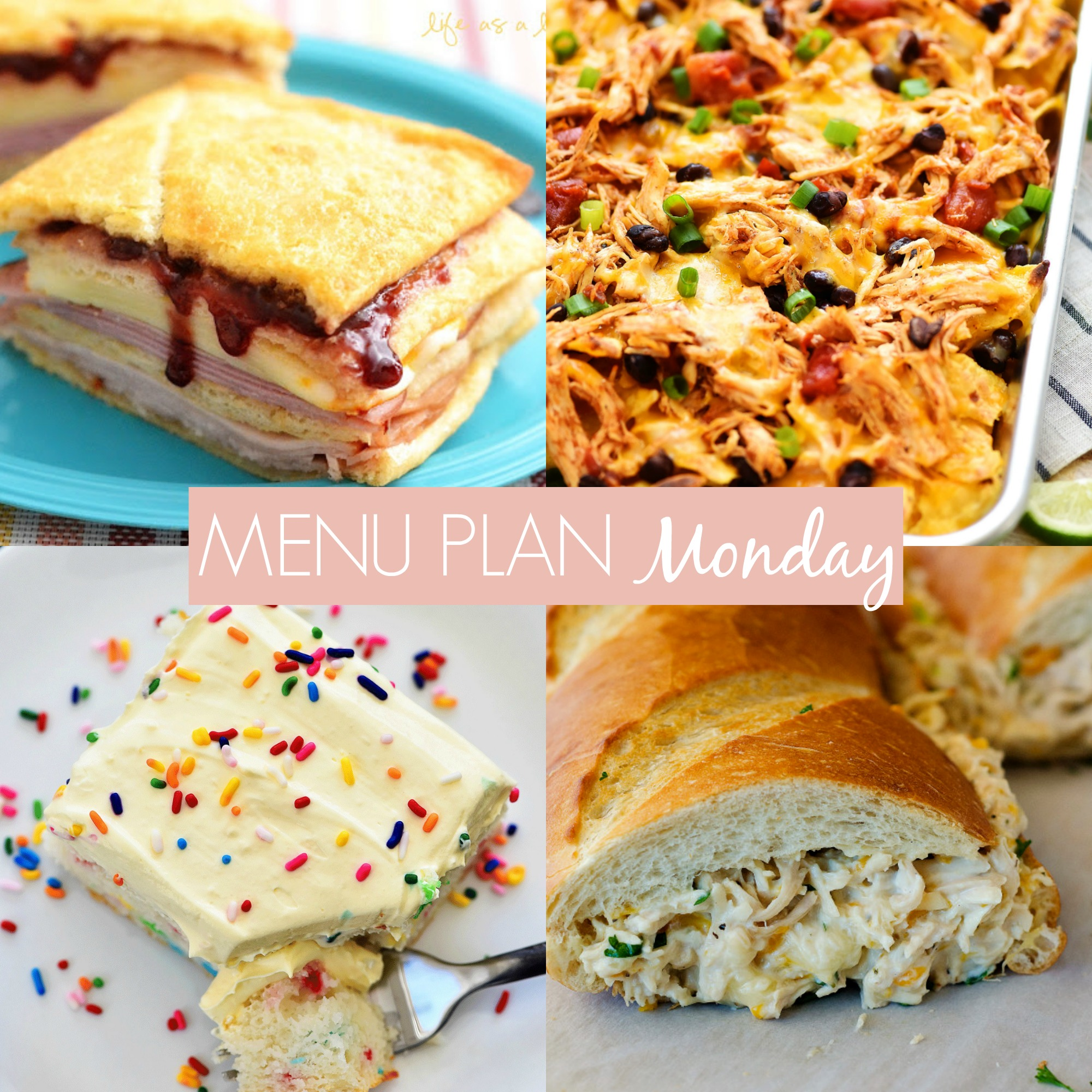 Menu Plan Monday #250