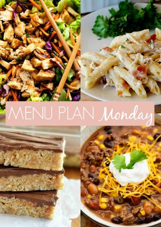 Menu Plan Monday #251
