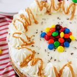 Monster Cookie Dough Cheesecake