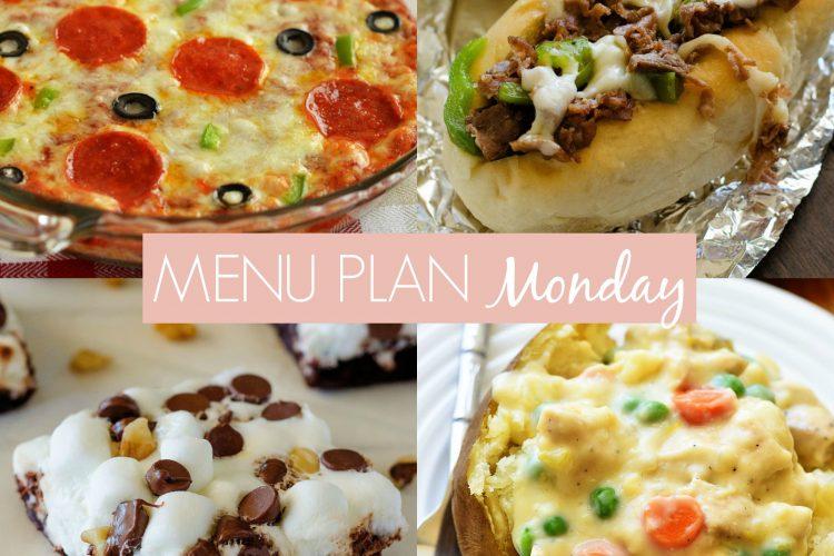 Menu Plan Monday #256