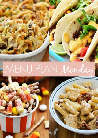 Menu Plan Monday #257