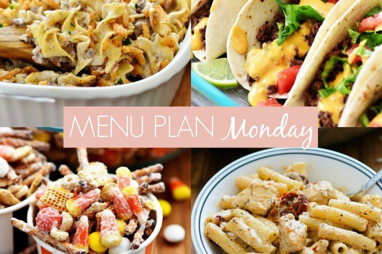 Menu Plan Monday #257
