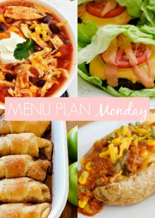 Menu Plan Monday #255
