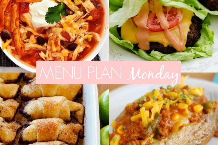 Menu Plan Monday #255