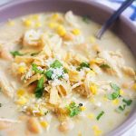 Slow Cooker Salsa Verde Chicken Soup