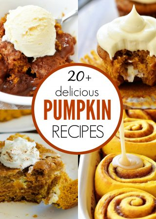 20+ Delicious Pumpkin Recipes