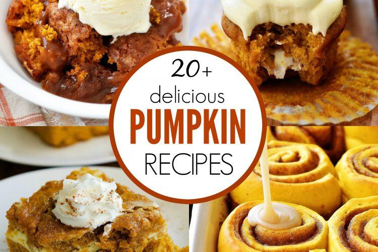Twenty Delicious Pumpkin Recipes