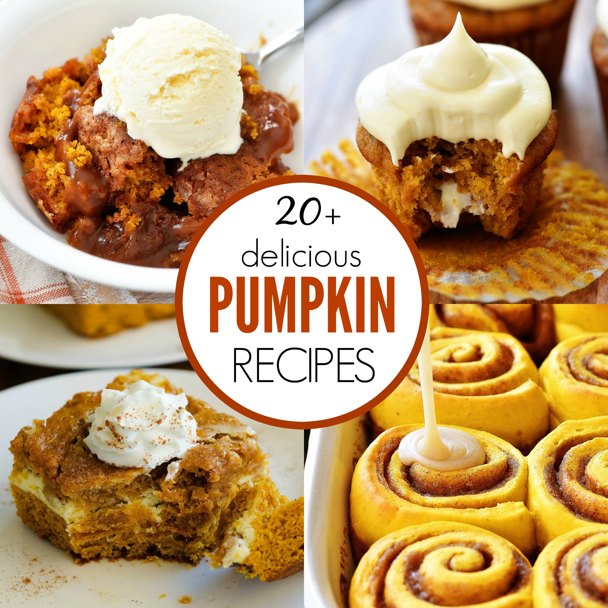 Twenty delicious Pumpkin recipes