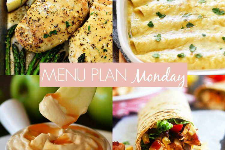 Menu Plan Monday #258
