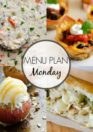 Menu Plan Monday #262