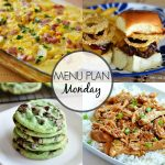 Menu Plan Monday #265