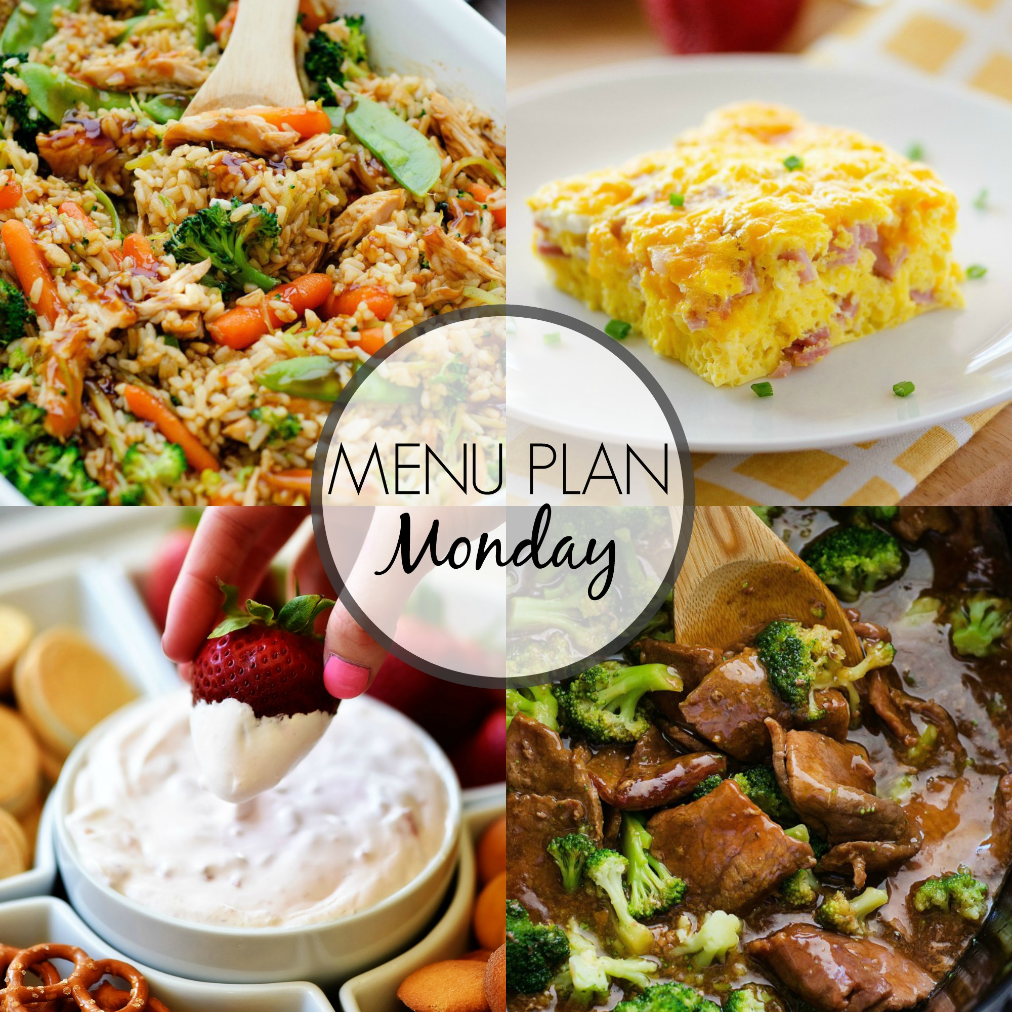 Menu Plan Monday #269