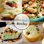 Menu Plan Monday #270