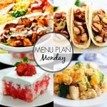 Menu Plan Monday #272