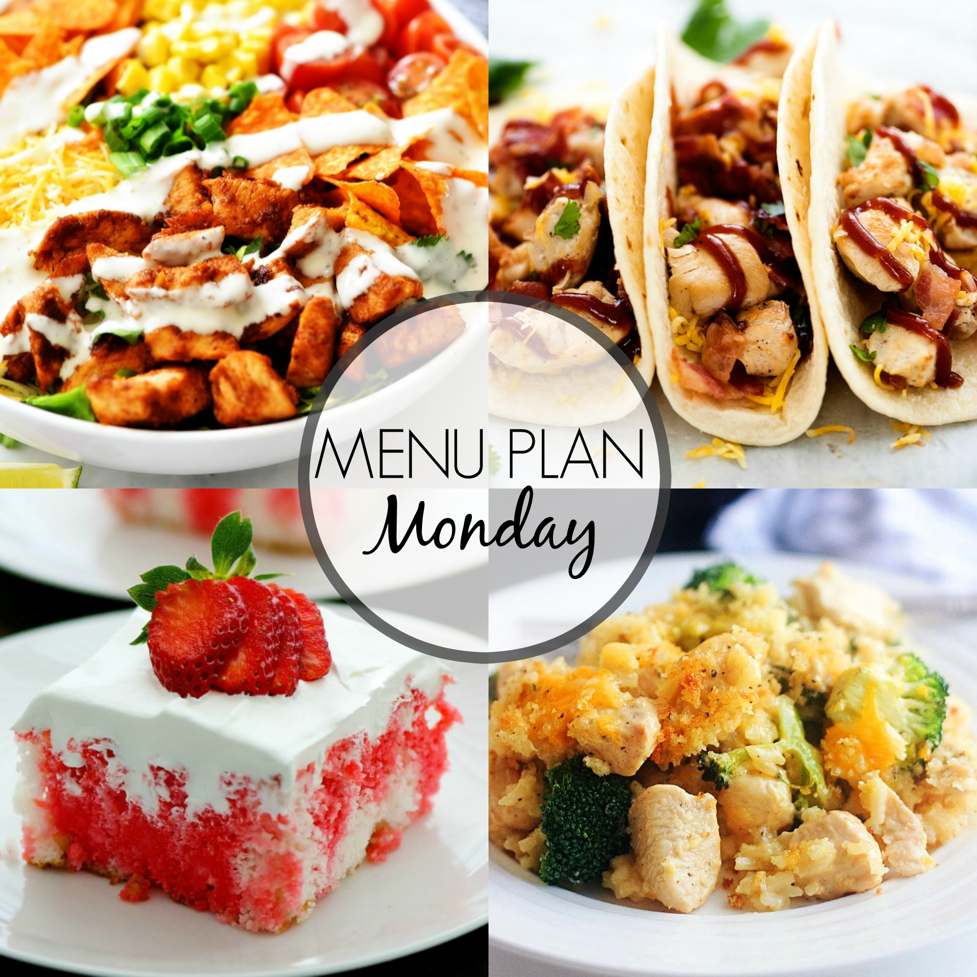 Menu Plan Monday is filled with easy and delicious recipes your family will love!