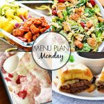 Menu Plan Monday #281