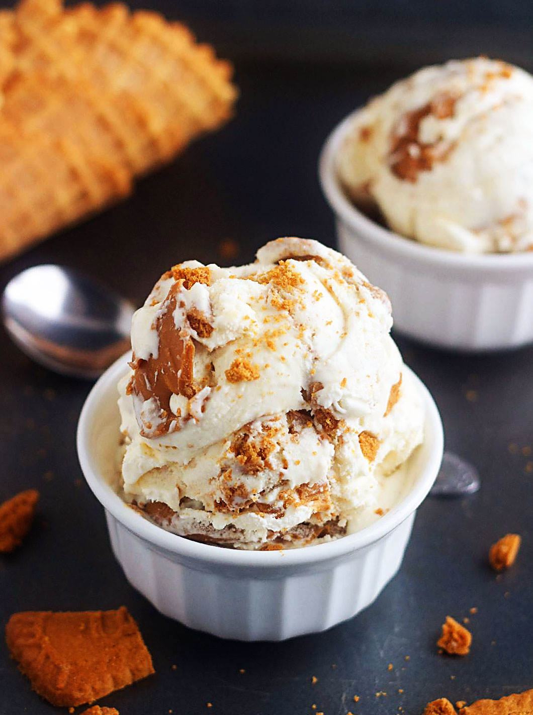 Homemade Biscoff Ice Cream Life In The Lofthouse