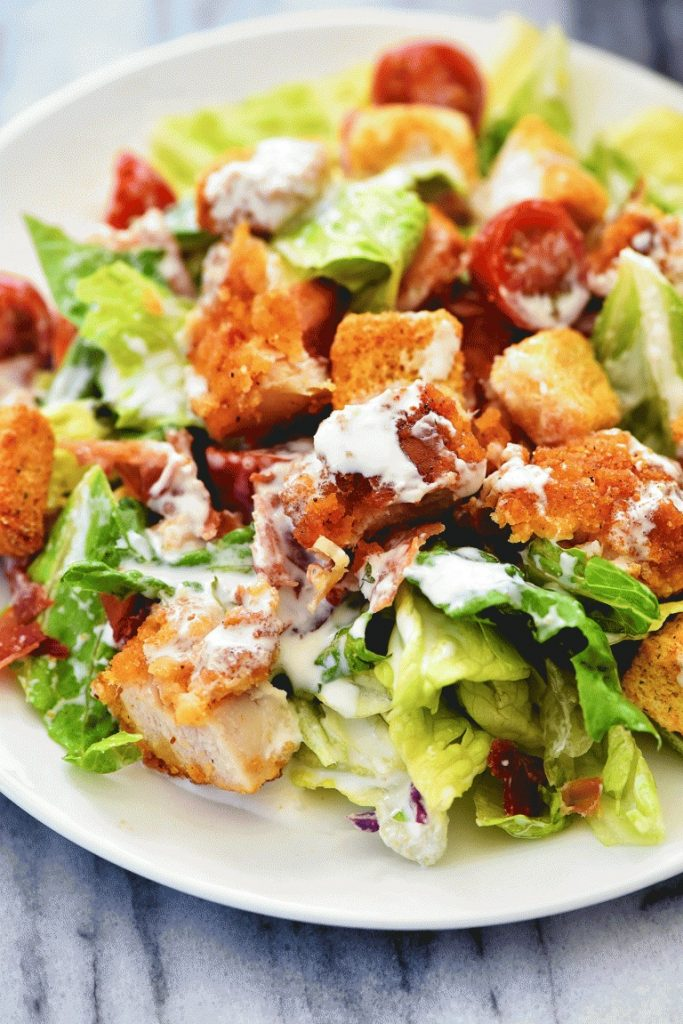 Chicken BLT Salad