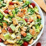 Chicken Caesar Pasta Salad