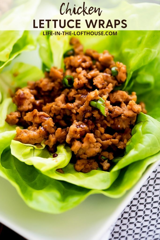 PF Chang's Chicken Lettuce Wraps are lettuce wraps full of chicken with savory Asian flavor. Life-in-the-Lofthouse.com