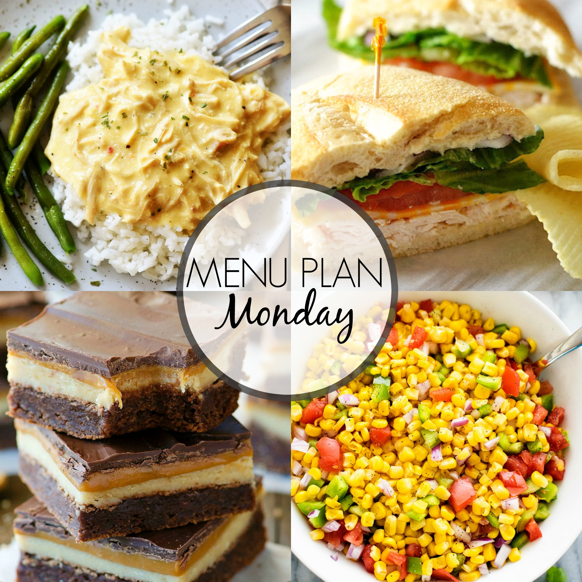 Menu Plan Monday 295