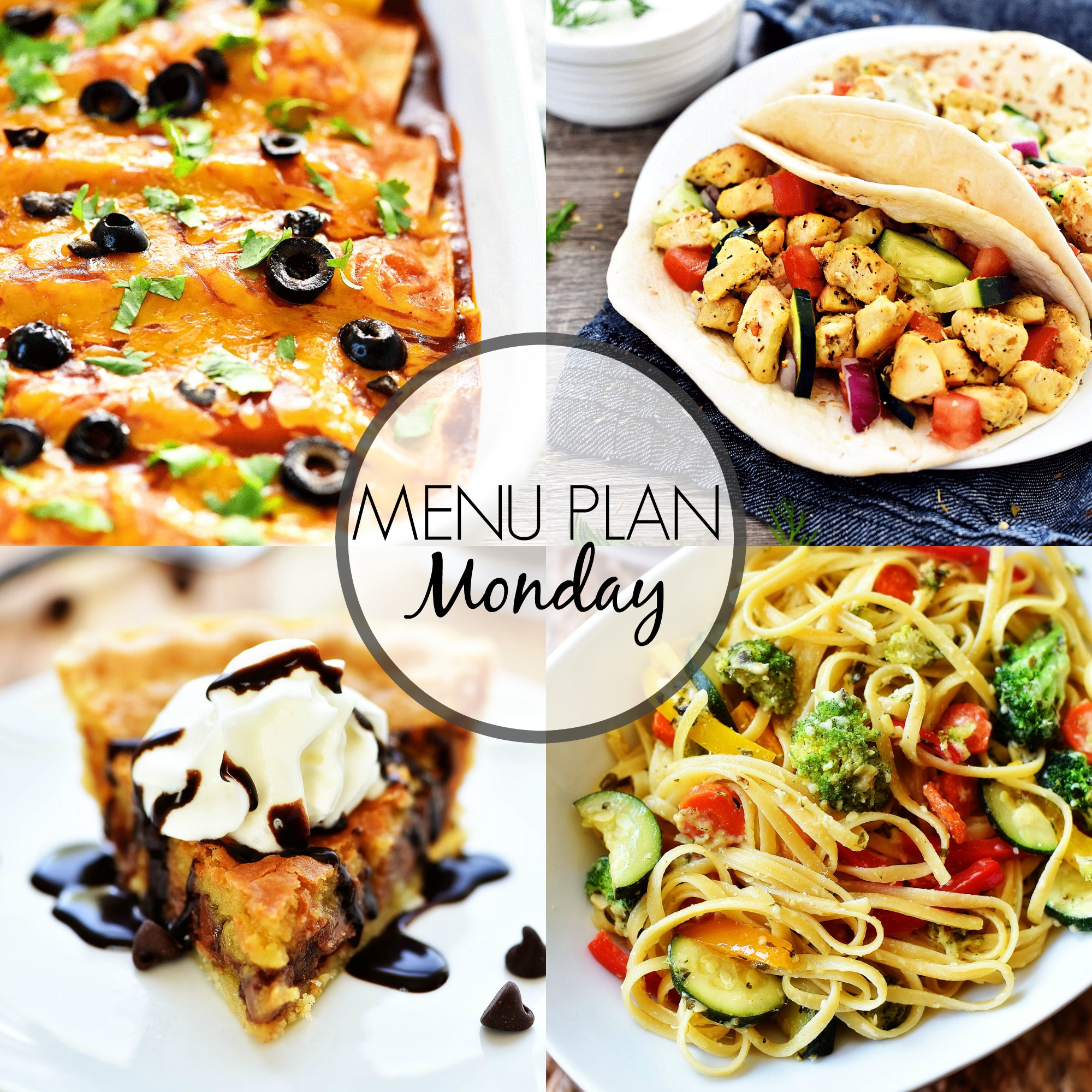 Menu Plan Monday 299