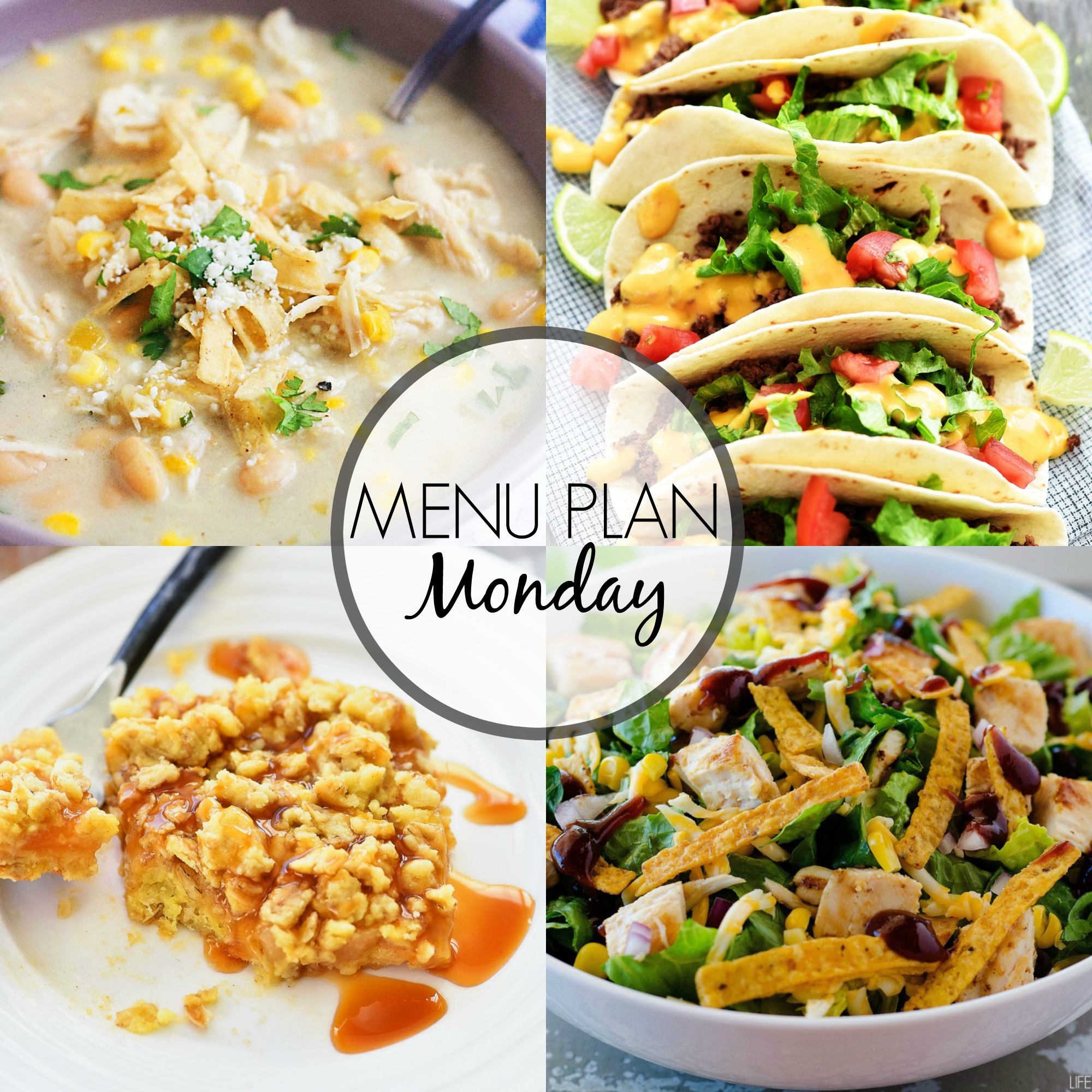 Menu Plan Monday 302