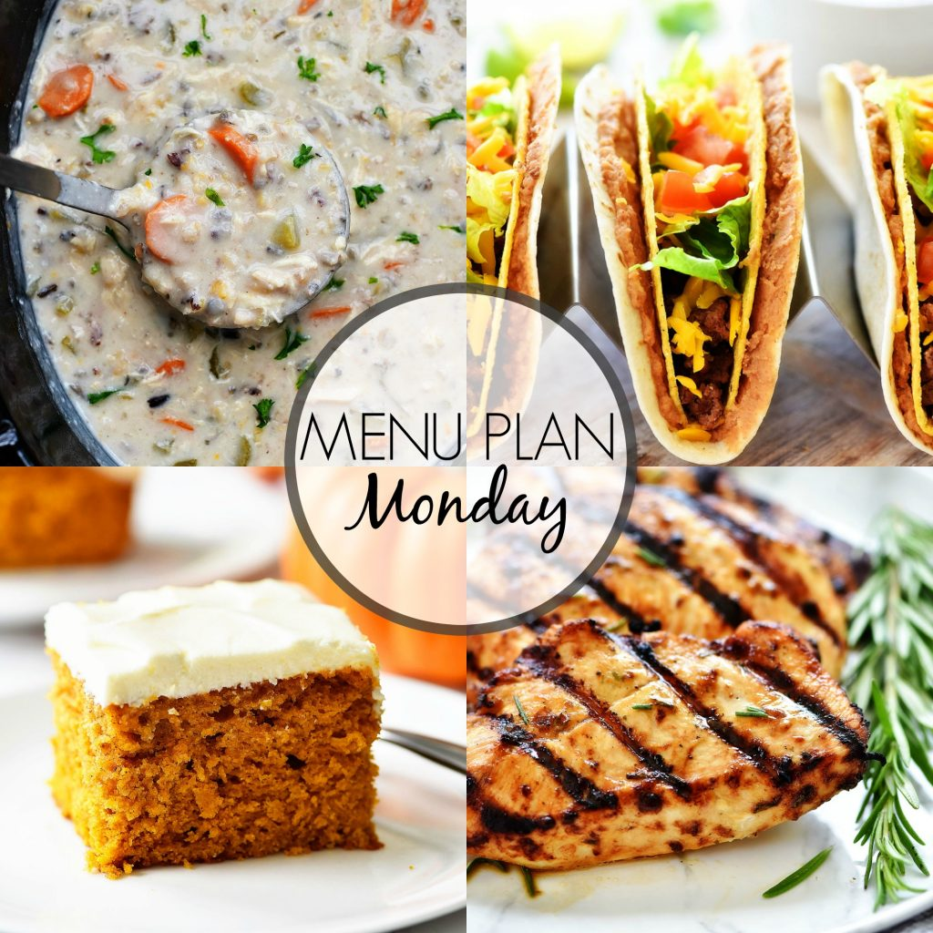 Menu Plan Monday 304