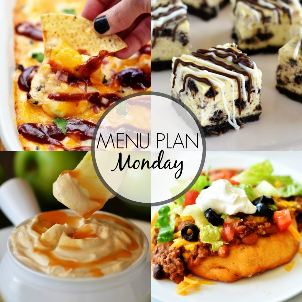 Menu Plan Monday 305