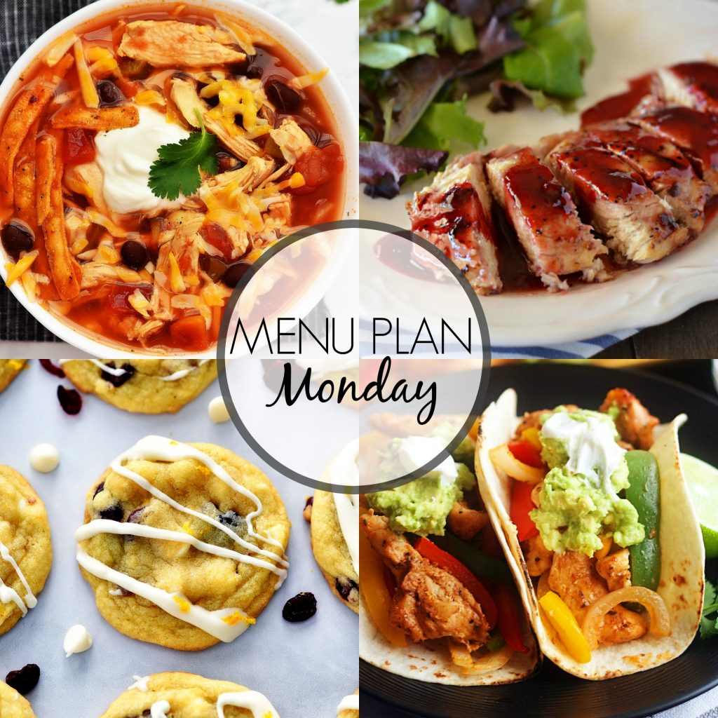 Menu Plan Monday #310